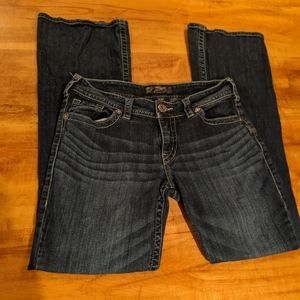 Silver Suki dark was boot cut size 30